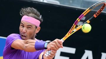 ATP w Rzymie: Nadal w półfinale. Dwa ćwierćfinały przeniesione na sobotę