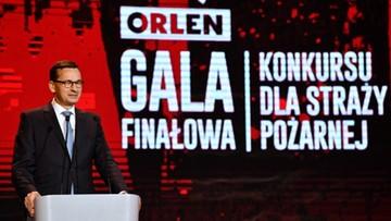 Morawiecki: Ochotnicze Straże Pożarne to część społeczeństwa obywatelskiego