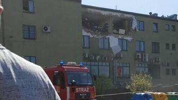 Wybuch gazu w bloku w Suchej Beskidzkiej. Wyrwana ściana budynku
