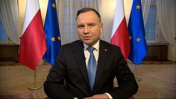 Prezydent w Polsat News: 500 plus ważniejsze niż projekt CPK i przekop Mierzei Wiślanej