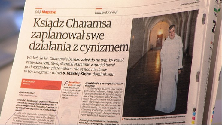 Z prasy: Polska The Times o księdzu Charamsie