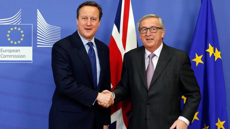 Cameron: propozycje UE zachęcające, ale nie wystarczające