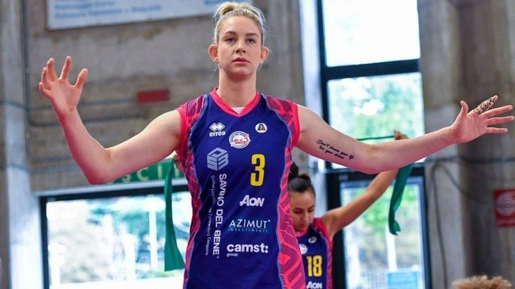 Liga Mistrzyń: Drużyna Wołosz lepsza od zespołu Stysiak