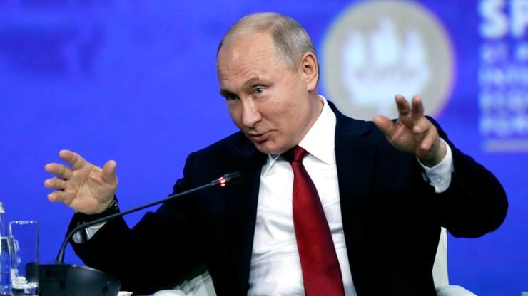 Putin: Nord Stream 2 próbują torpedować kraje, których rachunki płacą inni