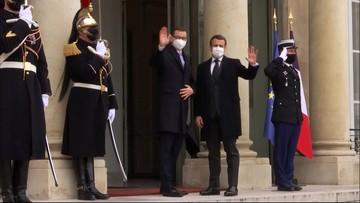 Premier Morawiecki z wizytą we Francji: będziemy chcieli współpracować bardzo blisko