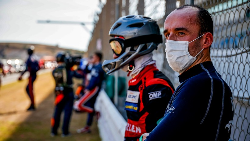ELMS: Drugie miejsce teamu Roberta Kubicy na Algarve International Circuit