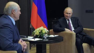 """Spotkanie Putin-Łukaszenka. """"Porozumieli się w sprawie kredytu"""""""