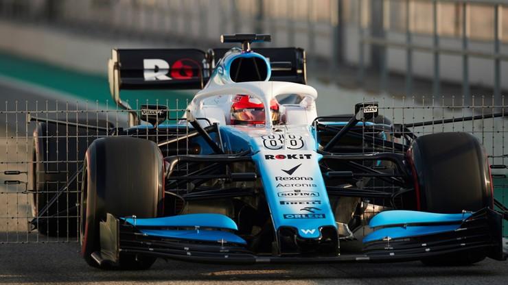 Formuła 1: Kubica z najsłabszym czasem przedpołudniowych testów