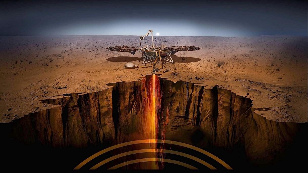 Mars trzęsie się, a naukowcy nie mają pojęcia, co się dzieje. Oto dźwięk wstrząsów