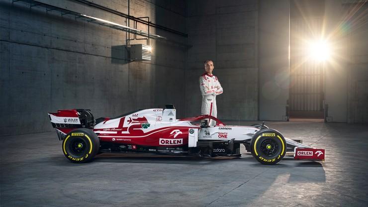 Alfa Romeo Racing ORLEN zaprezentował nowy bolid w Warszawie