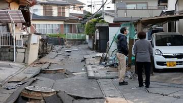 Rośnie liczba ofiar kolejnego trzęsienia ziemi w Japonii. Ponad tysiąc rannych