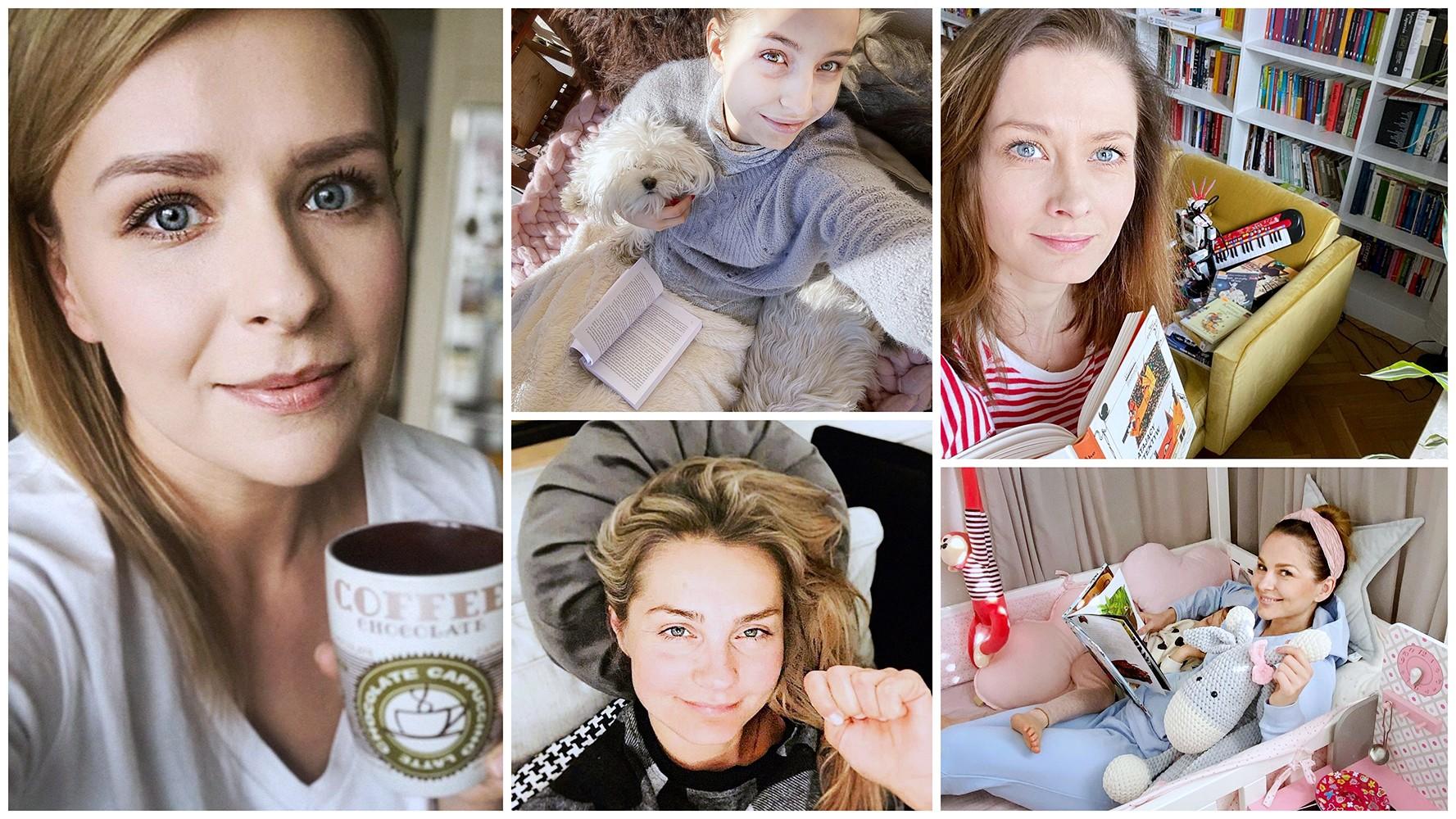 Gwiazdy Polsatu uczestniczą w akcji #zostańwdomu
