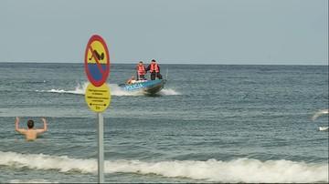 Zwłoki znalezione na plaży w Sasinie koło Łeby