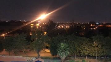 Trzy rakiety spadły na Zieloną Strefę w Bagdadzie