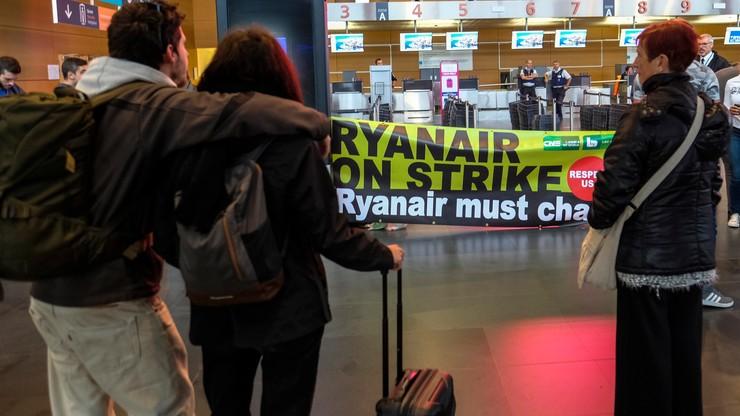Znów strajk Ryanaira. Tym razem w sześciu krajach. Loty odwołano także w Polsce