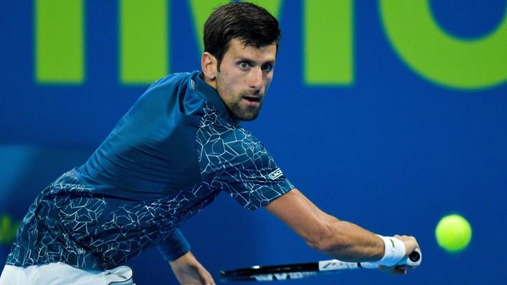 ATP w Dausze: Djokovic awansował do półfinału