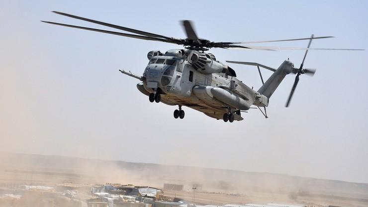 Wojskowy śmigłowiec rozbił się w Afganistanie. Zginęli żołnierze