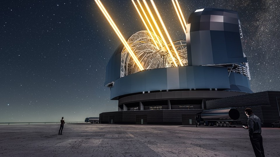 Kopuła Ekstremalnie Wielkiego Teleskopu będzie wielkości piłkarskiego stadionu