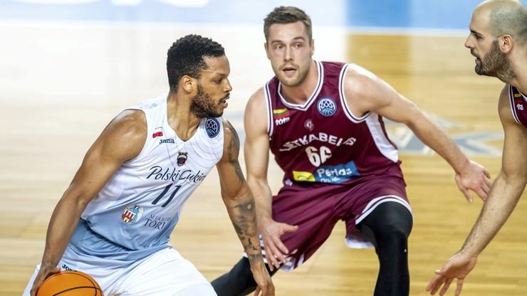 Liga Mistrzów FIBA: Polski Cukier Toruń przegrał z litewską drużyną
