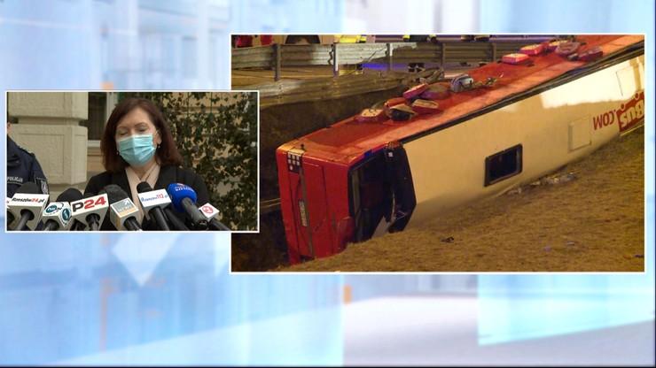 Wojewoda podkarpacki: akcja po wypadku na A4 była bardzo sprawna