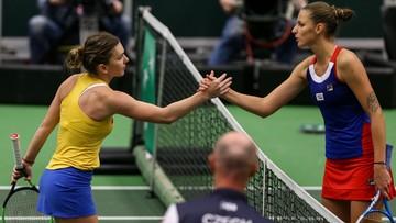 Turniej WTA w Rzymie: Halep i Pliskova w finale
