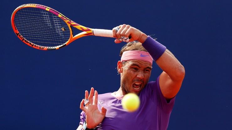 ATP w Barcelonie: Rafael Nadal w półfinale