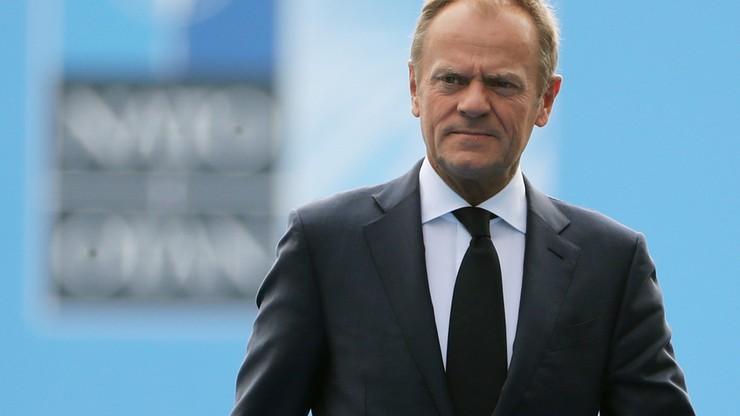 Mazurek: Donald Tusk nie chce przegrać z Andrzejem Dudą