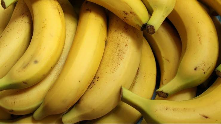 76 kg kokainy w skrzyniach z bananami z Ekwadoru