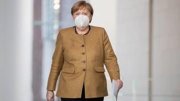Merkel: nowe warianty koronawirusa mogą spowodować trzecią falę pandemii