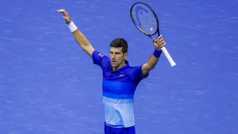 US Open: Djokovic w finale i krok od Wielkiego Szlema