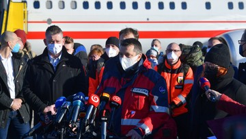 """Polscy strażacy dotarli na Słowację, by pomóc w testach. """"To znak solidarności między krajami"""""""