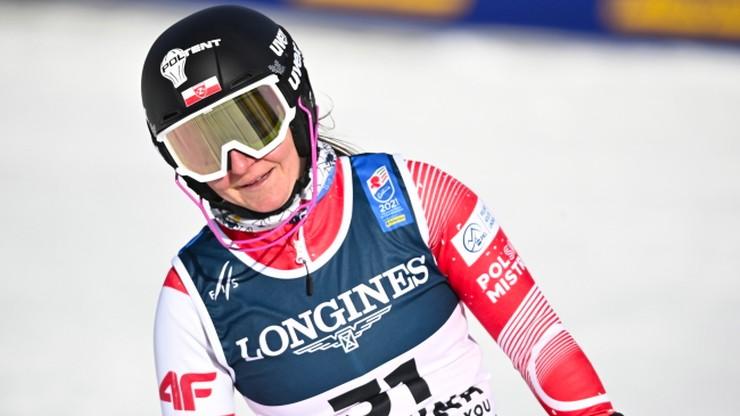Alpejskie MŚ: Polka z największym sukcesem w karierze