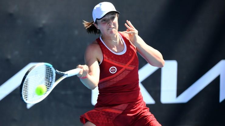 WTA w Melbourne: Iga Świątek pokonana. Lepsza była Jekaterina Aleksandrowa