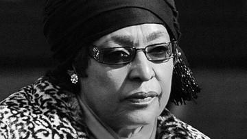 Zmarła żona Nelsona Mandeli. Winnie Madikizela-Mandela miała 81 lat