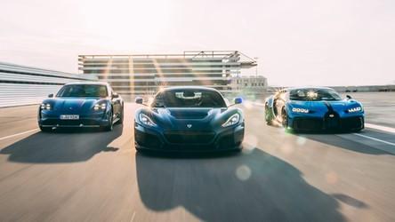 Bugatti i Rimac łączą siły, wspólnie stworzą elektryczny hipersamochód