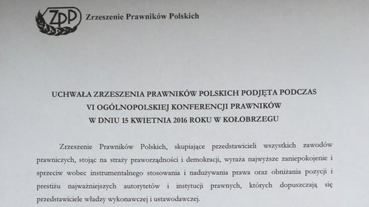 Prawnicy zdecydowanie przeciw działaniom rządu ws. Trybunału Konstytucyjnego