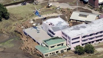 Śmiertelne ofiary tajfunu na północy Japonii