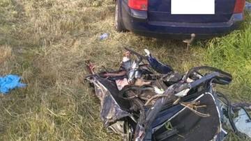 Tragiczny wypadek na Lubelszczyźnie. Dwie osoby nie żyją