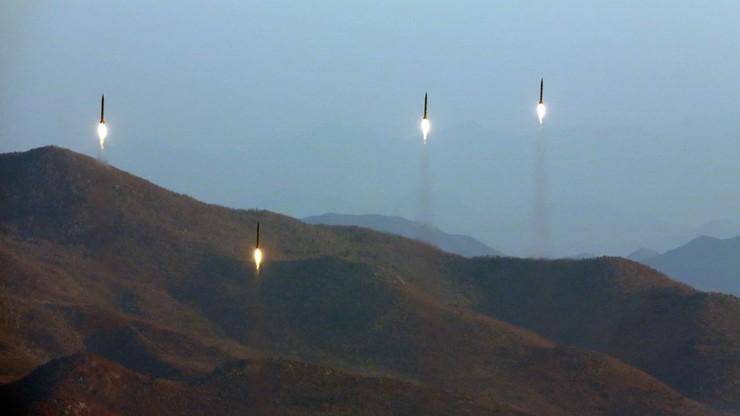 Próba balistyczna Korei Płn. Wystrzelono trzy rakiety krótkiego zasięgu