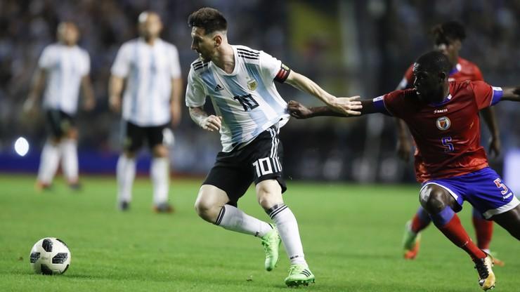 MŚ 2018: Argentyna wysoko pokonała Haiti w sparingu