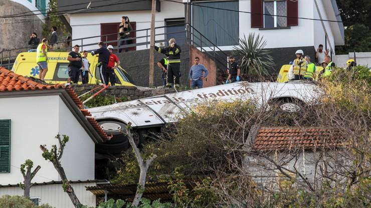 Madera: co najmniej 28 ofiar wypadku autobusu z turystami