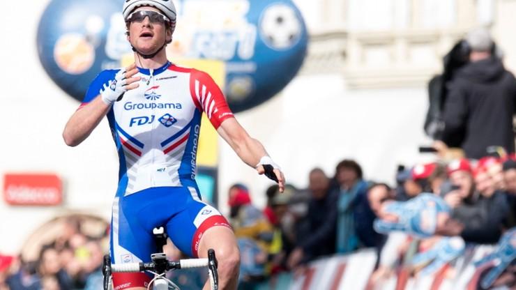 Tour de Romandie: Kueng uciekł rywalom i wygrał drugi etap