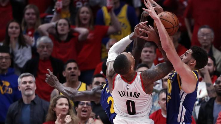NBA: 61 punktów snajpera Trail Blazers, kolejna porażka Lakers