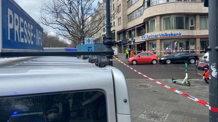 Zuchwały napad na bank w Berlinie. Sprawcy zabrali kasetki z pieniędzmi i uciekli