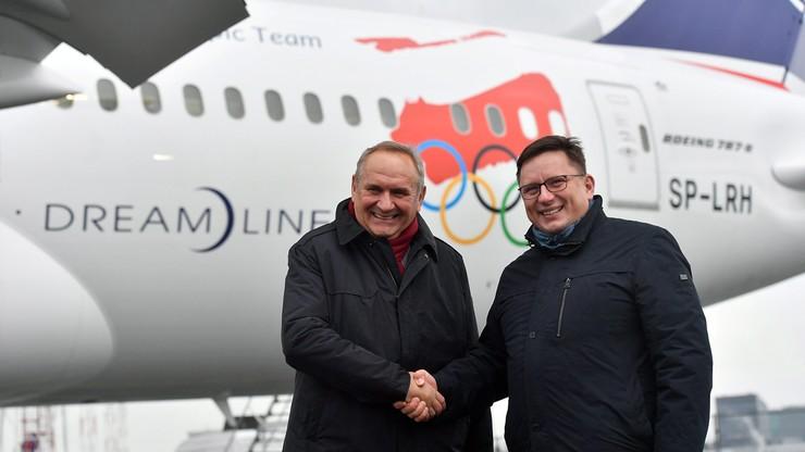 Pjongczang 2018: PLL LOT oficjalnym przewoźnikiem reprezentacji olimpijskiej