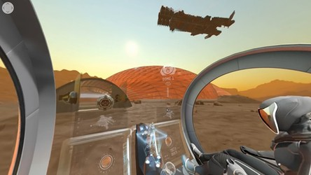 Zobacz, jak będzie wyglądało pierwsze arabskie miasto na Marsie [WIDEO]