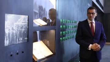 Premier: odpowiedzialność za wszystko, co się stało w trakcie II wojny światowej, ponoszą Niemcy