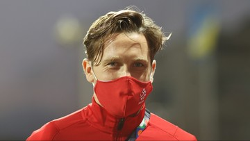 Piotr Zieliński wrócił do treningów po zakażeniu koronawirusem
