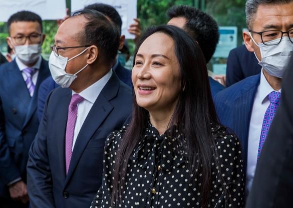 Prezes Huawei wróciła do Chin po niemal trzech latach domowego aresztu w Kanadzie