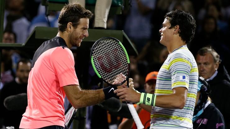 ATP w Miami: Isner i Del Potro zmierzą się w półfinale